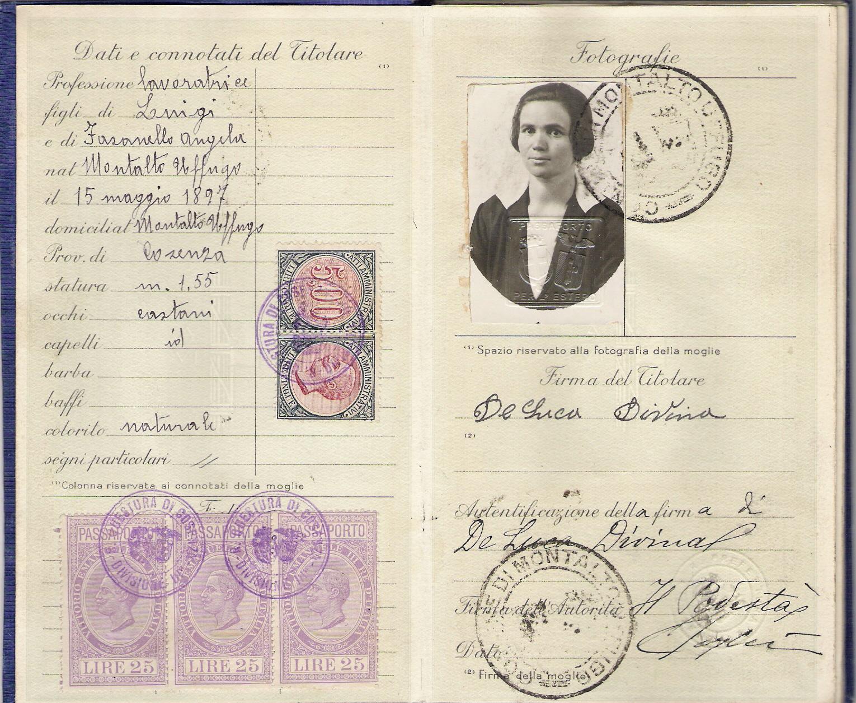 Divina DeLuca Passport